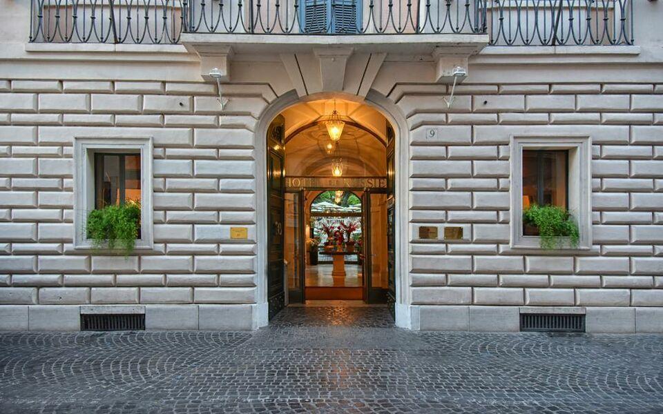 Hotel de russie roma italia for Hotel via del babuino