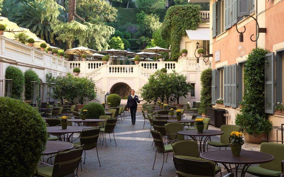 Hotel de russie a design boutique hotel rome italy for Hotel via del babuino