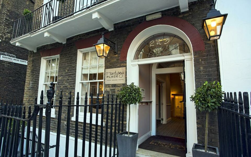 Montagu place hotel a design boutique hotel london for Boutique hotels london