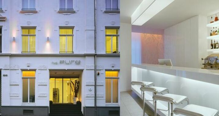The pure a design boutique hotel frankfurt germany for Design boutique hotels waldeck hessen