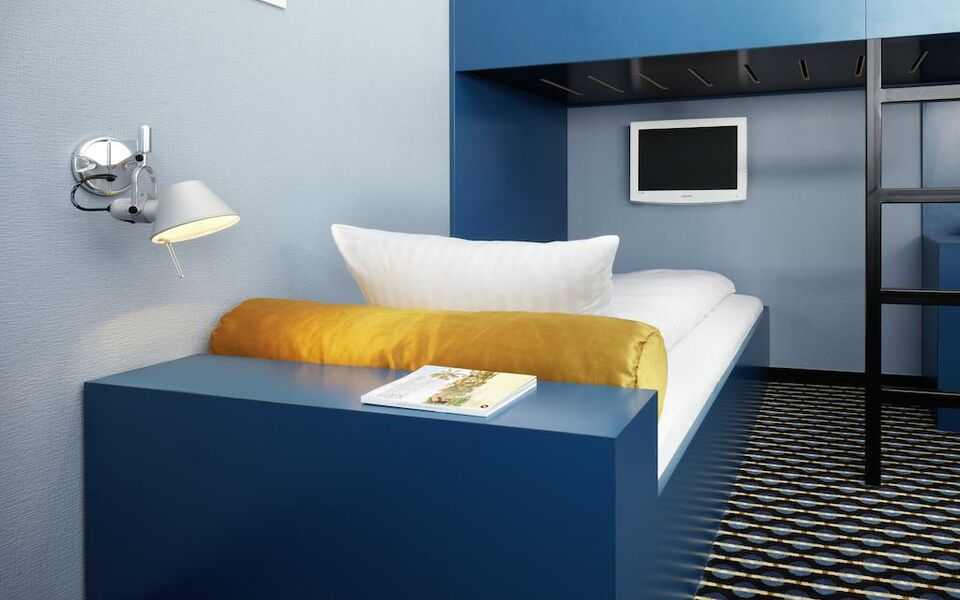 25hours hotel by levi s frankfurt germania. Black Bedroom Furniture Sets. Home Design Ideas