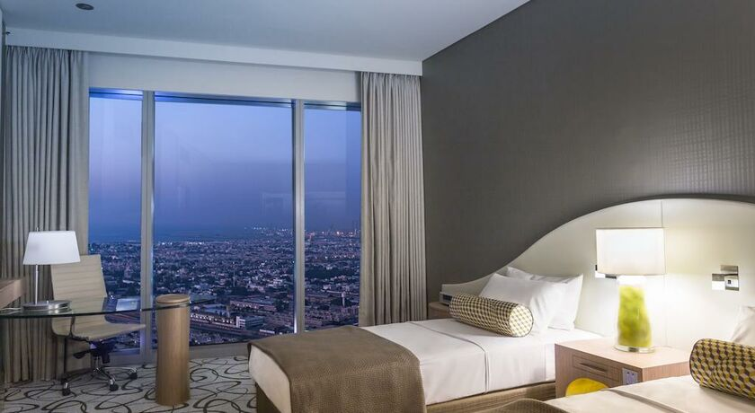 Sofitel dubai downtown dubai mirats arabes unis my for Vida boutique hotel dubai