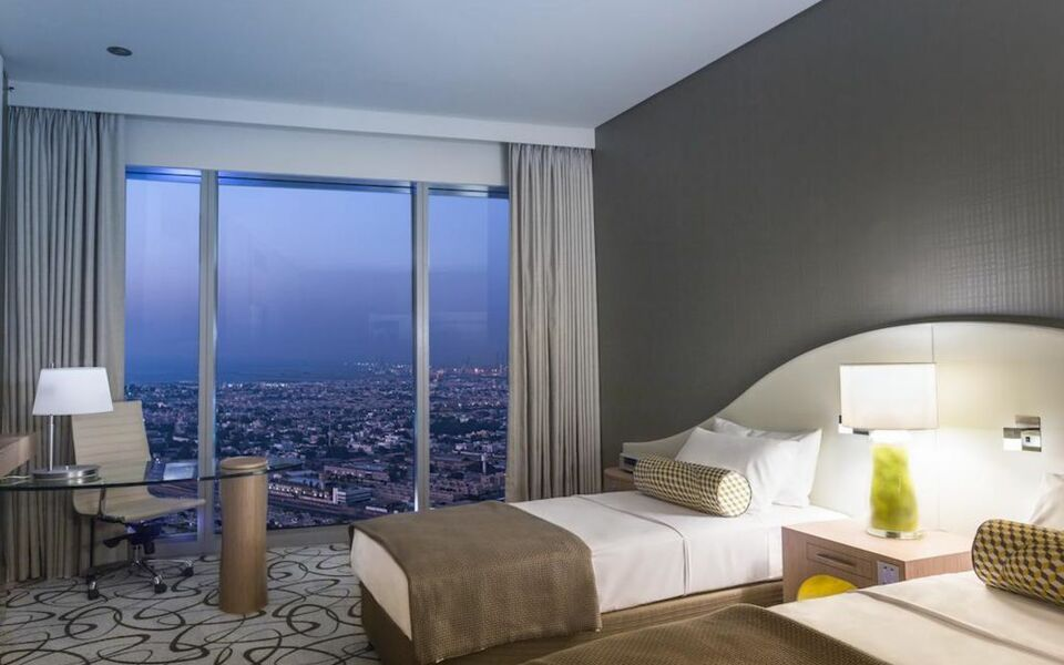 Sofitel dubai downtown a design boutique hotel dubai for Boutique hotel dubai