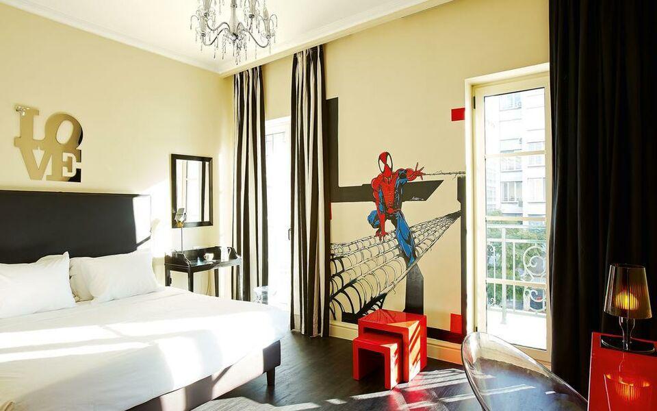 Grecotel pallas athena a design boutique hotel athens greece for Design boutique hotels athens