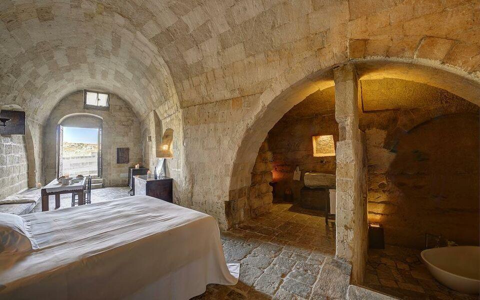 sextantio le grotte della civita a design boutique hotel