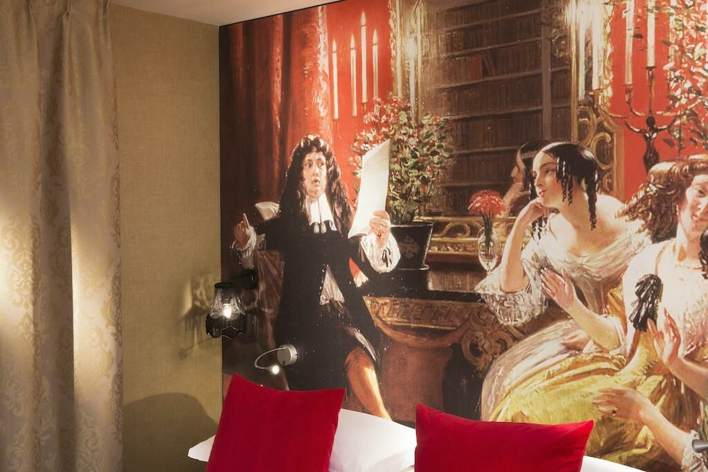 hotel les th tres a design boutique hotel paris france. Black Bedroom Furniture Sets. Home Design Ideas