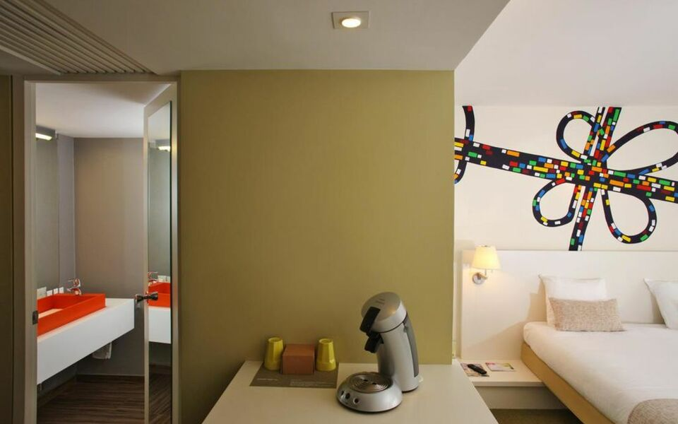 Hotel bloom bruxelles belgien for Design hotel belgien