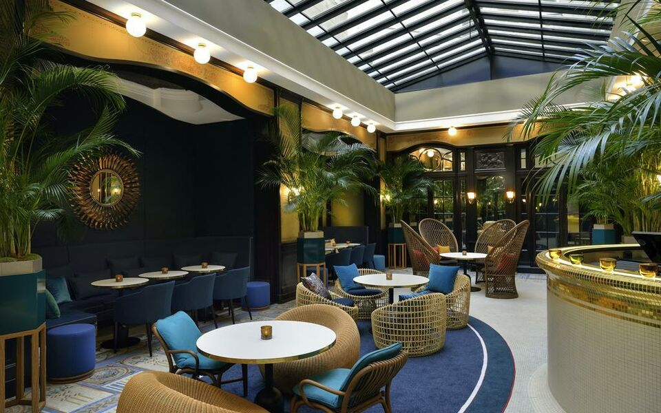 H tel l echiquier op ra paris mgallery by sofitel a for Hotel design 75010