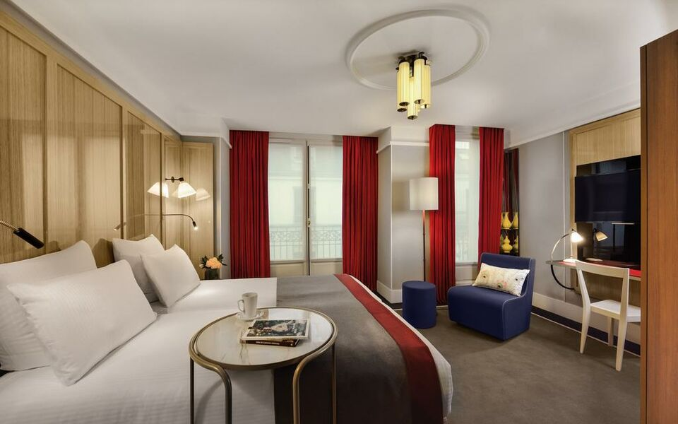 h tel l echiquier op ra paris mgallery by sofitel a. Black Bedroom Furniture Sets. Home Design Ideas