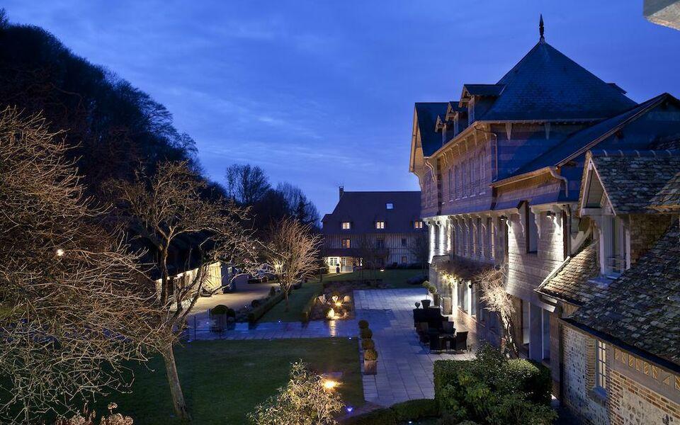 La ferme saint simeon spa relais chateaux a design for Design hotel normandie france