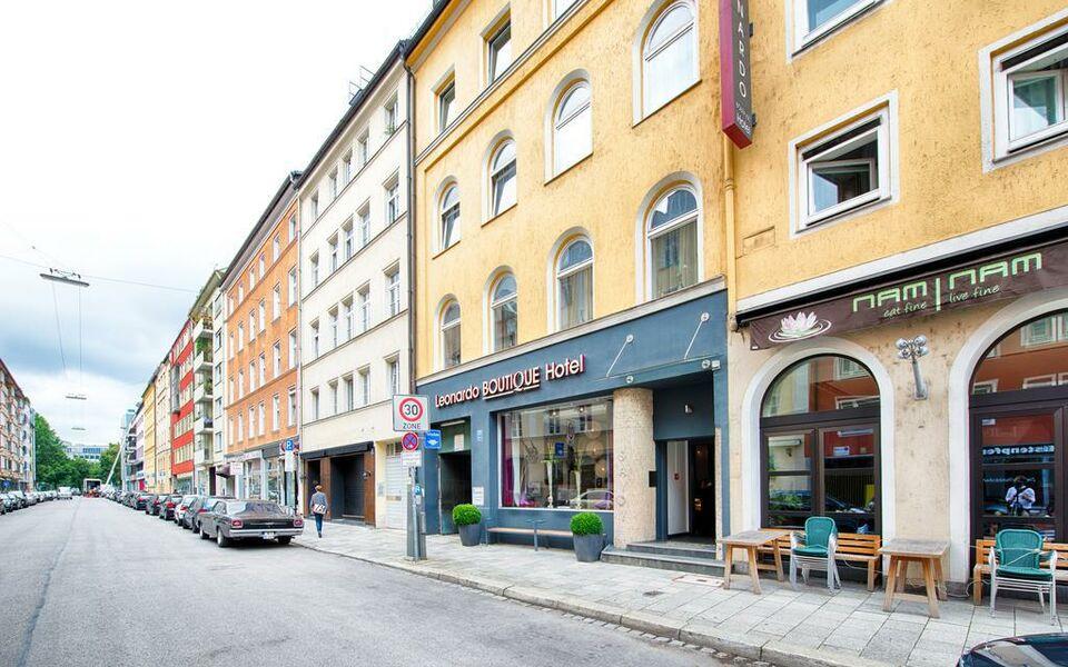 Leonardo boutique hotel munich a design boutique hotel for Design hotel muenchen