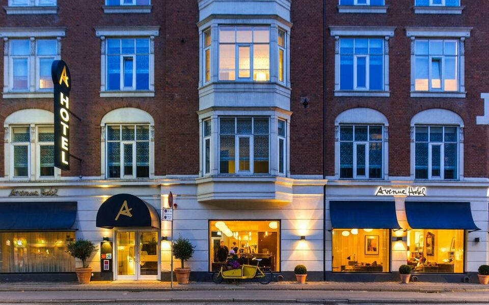 Avenue hotel copenhagen copenhague danemark my for My boutique hotel