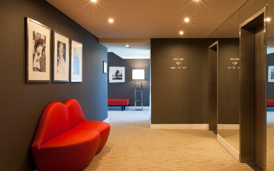 Lutecia smart design hotel lissabon portugal for Decor hotel lisbon