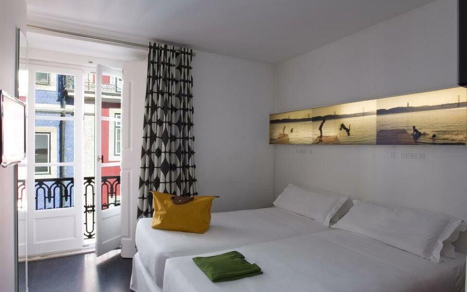 Hotel gat rossio lisbonne portugal my boutique hotel for Hotel boutique lisbonne