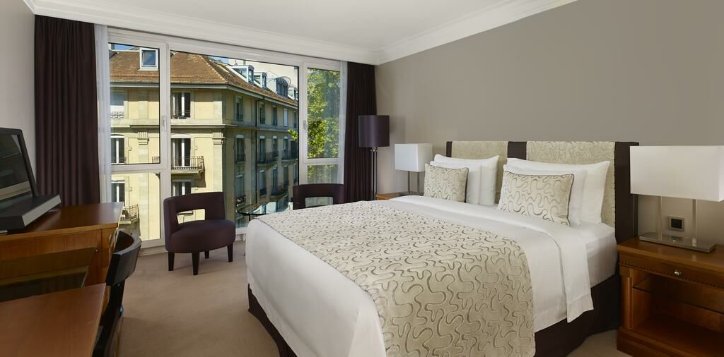 President wilson a luxury collection hotel a design for Best boutique hotels geneva
