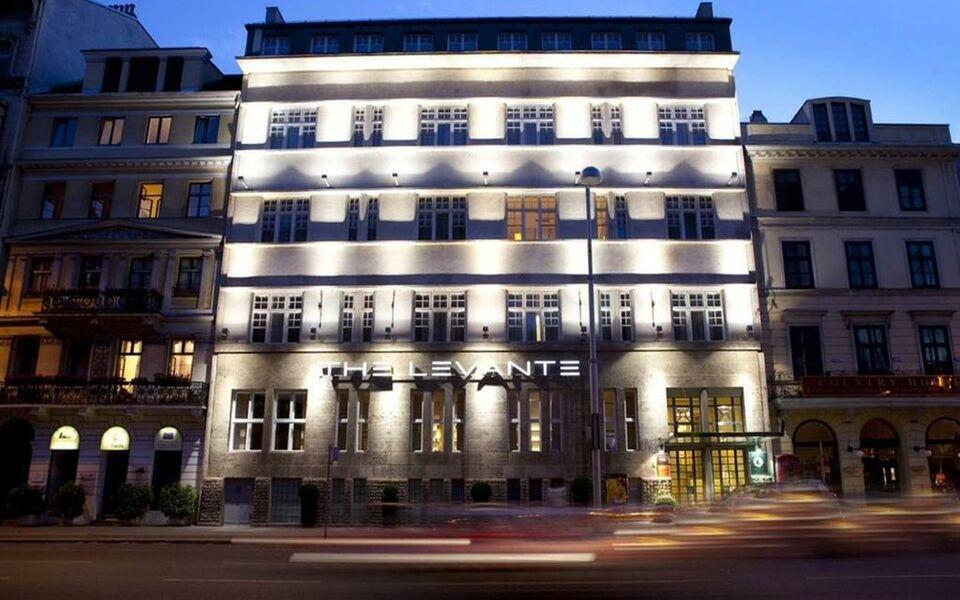 The levante parliament a design hotel a design boutique for Design hotel vienna