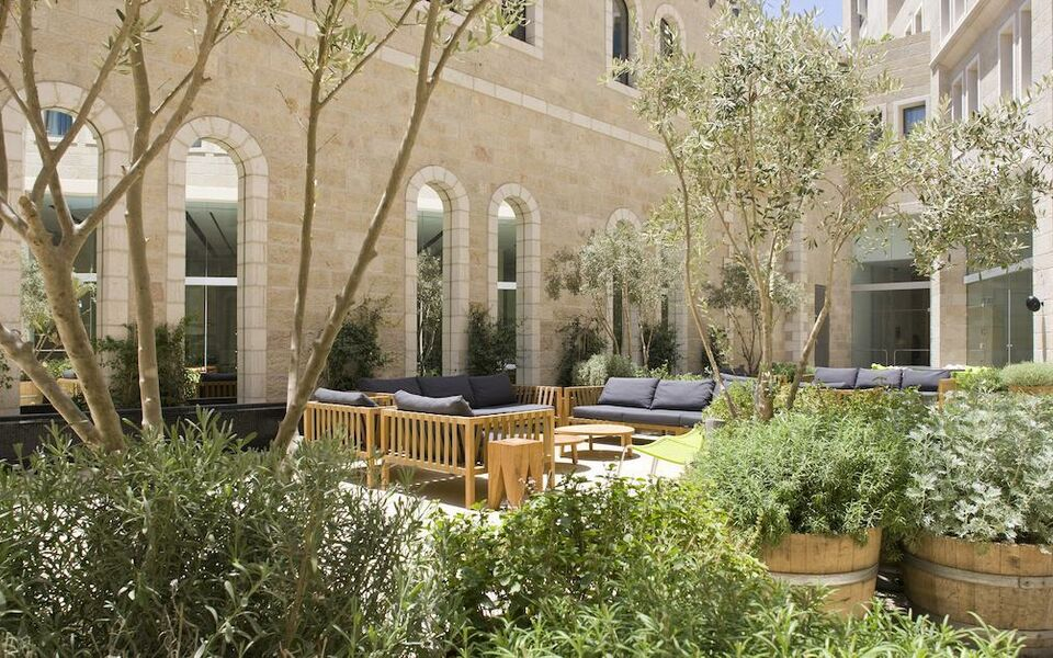 Mamilla hotel the leading hotels of the world a design for Hotel design jerusalem