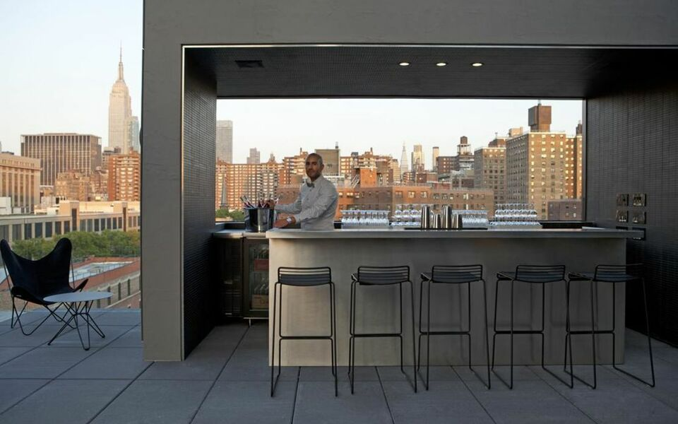 Hotel americano a design boutique hotel new york city u s a for Boutique hotel new york