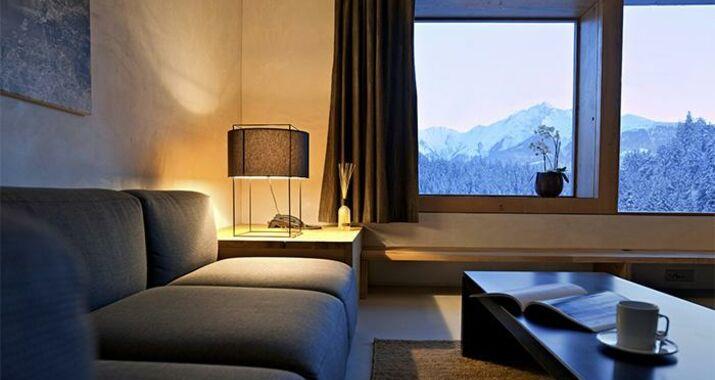 Rocksresort a design boutique hotel laax switzerland for Hotel design grisons