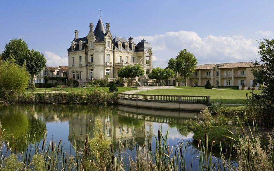 Ch teau h tel grand barrail a design boutique hotel saint for La boutique hotel de bordeaux
