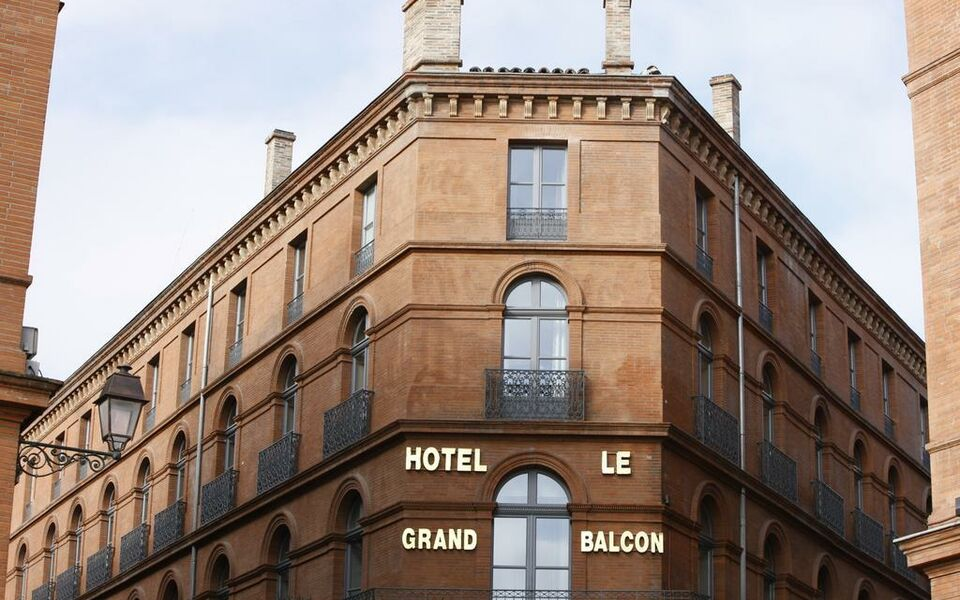 le grand balcon hotel a design boutique hotel toulouse