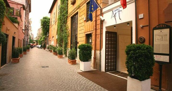 Hotel art by the spanish steps a design boutique hotel for Design boutique hotel rome