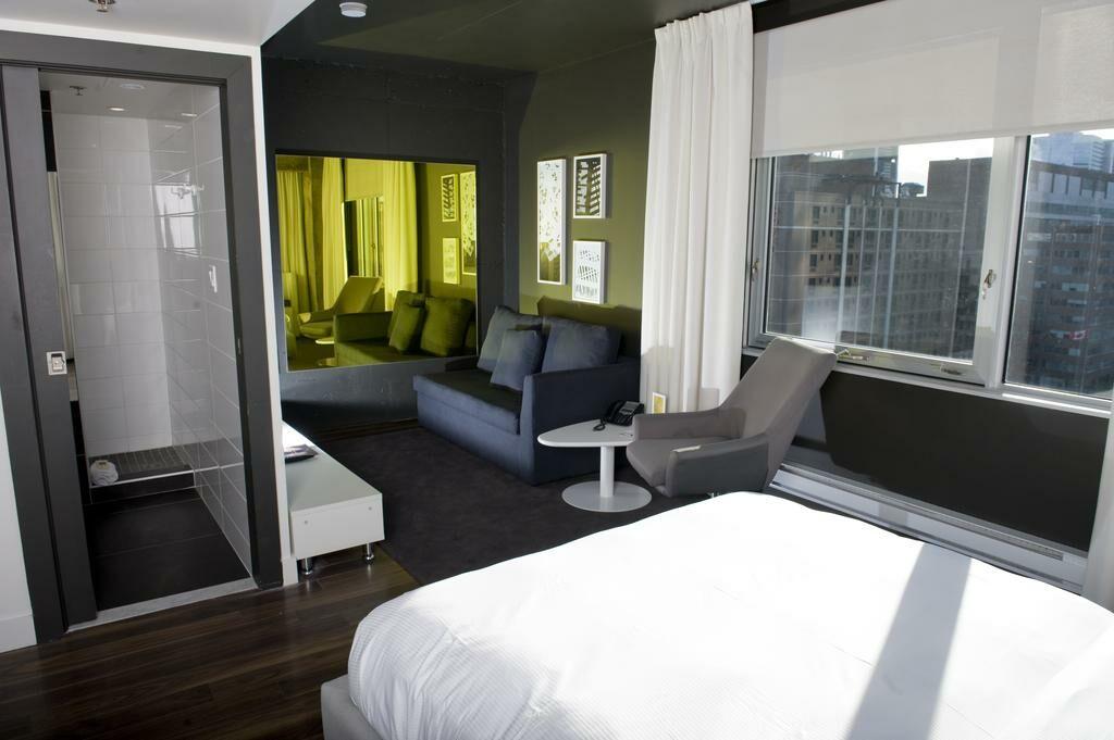 hotel zero 1 montreal a design boutique hotel montr al canada. Black Bedroom Furniture Sets. Home Design Ideas