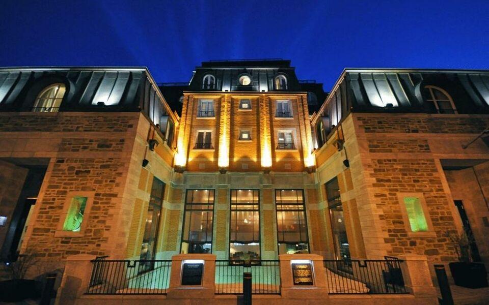 Auberge saint antoine a design boutique hotel quebec city for Hotel design quebec