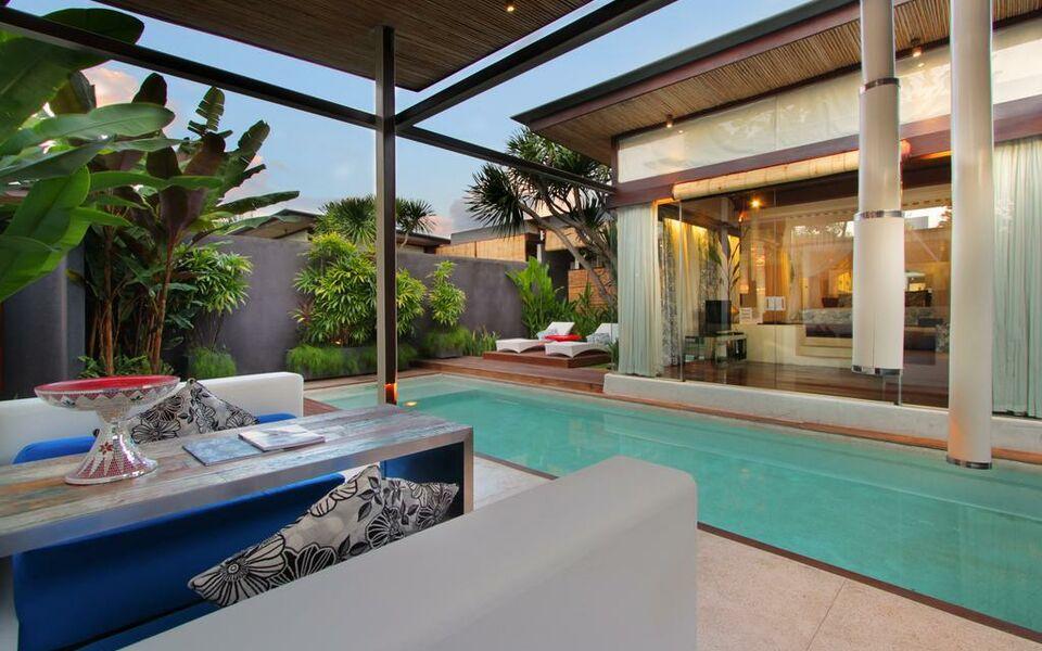 Kiss bali villas by karaniya experience a design for Boutique hotel bali