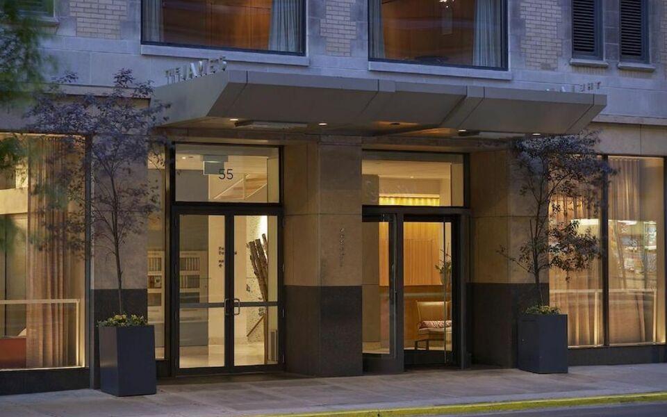 The james chicago a design boutique hotel chicago u s a for Boutique hotels chicago north side