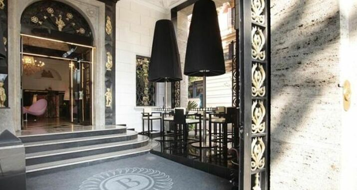 Grand hotel palace a design boutique hotel rome italy for Design boutique hotel rome