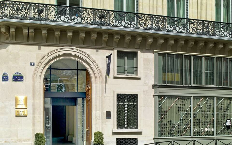 W paris op ra a design boutique hotel paris france for Design hotels france