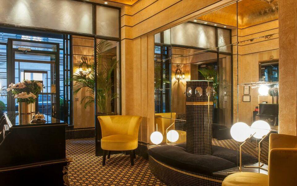 H tel mathis elys es a design boutique hotel paris france for Hotel design paris 8