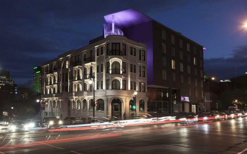Hotel10 a design boutique hotel montr al canada for Hotel design montreal