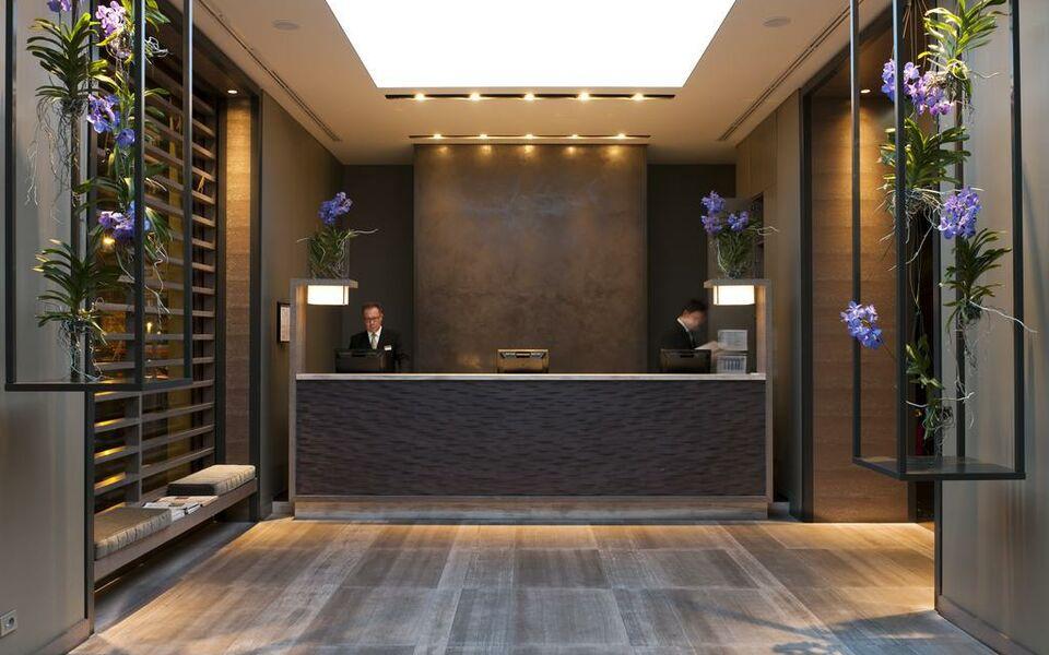 Starhotels echo a design boutique hotel milan italy for Boutique hotel milano centro