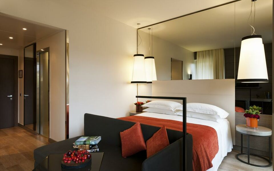 Starhotels echo a design boutique hotel milan italy for Boutique hotel milano