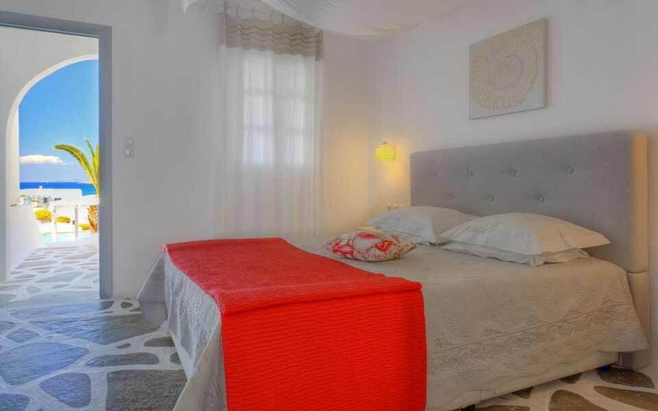 Lilly residence boutique suites adults only a design for Boutique hotel paros