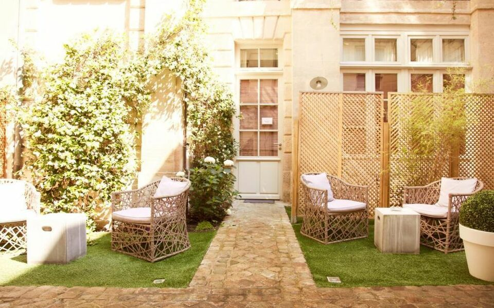 Coté Cour de L\'Hôtel Particulier, a Design Boutique Hotel Bordeaux ...