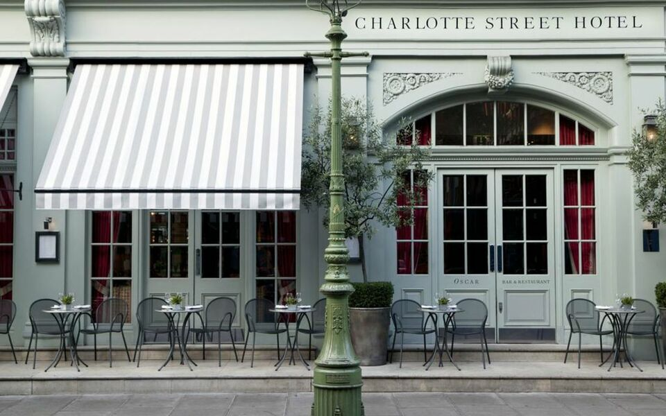Charlotte street hotel firmdale hotels londres royaume for Charlotte nc boutique hotels