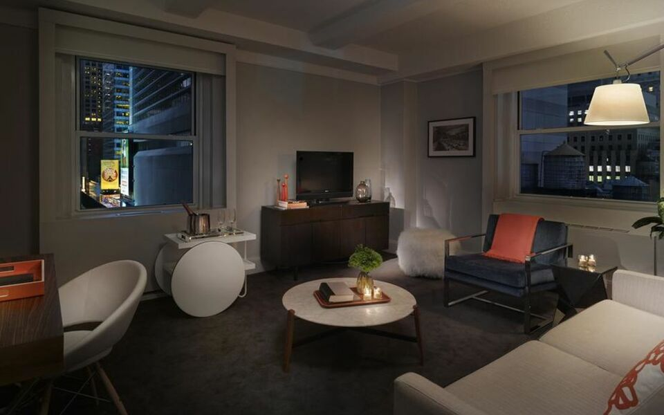 Paramount hotel times square new york nyc vereinigte for Was ist ein boutique hotel