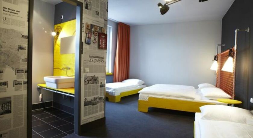Superbude hotel hostel st pauli hamburg allemagne my for Chambre quadruple