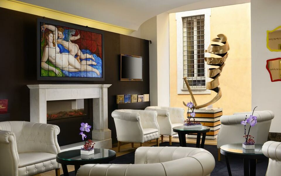 The First Luxury Art Hotel Roma Preferred Boutique Hotel