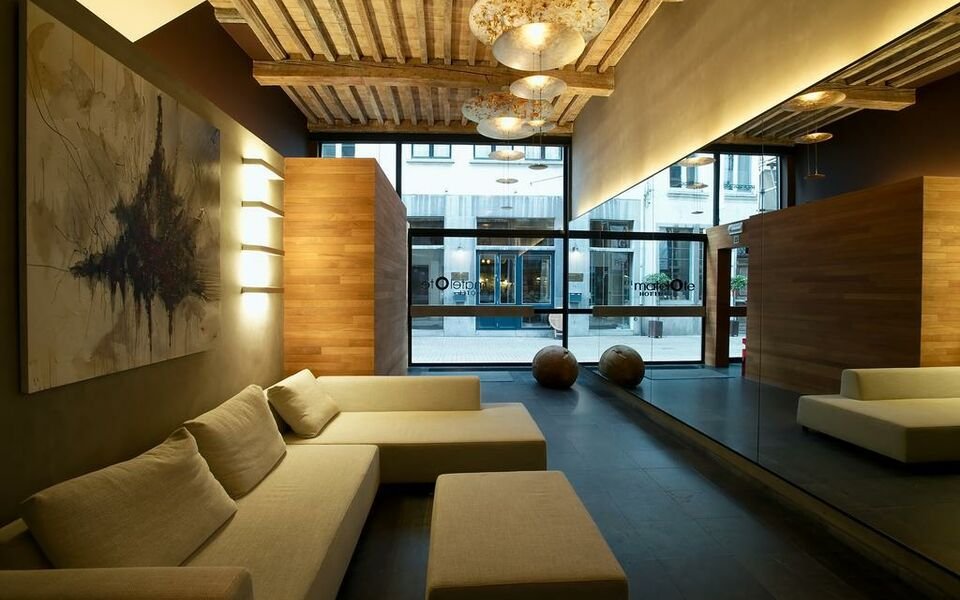 Hotel matelote a design boutique hotel antwerp belgium for Design hotel antwerpen