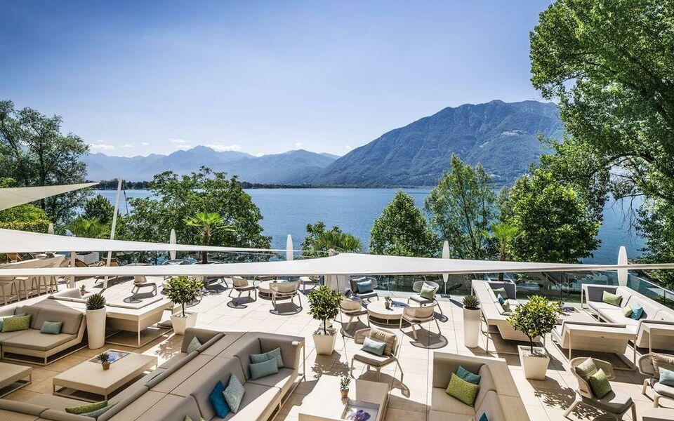 Giardino lago a design boutique hotel locarno switzerland for Designhotel lago maggiore