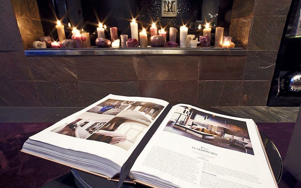 11 Mirrors Design Hotel A Design Boutique Hotel Kiev Ukraine