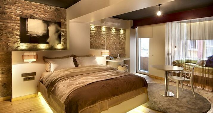 Nuru ziya suites a design boutique hotel istanbul turkey for Decor hotel istanbul
