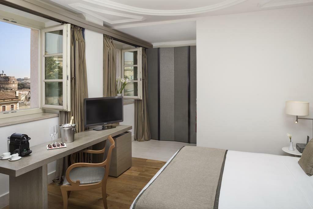 Gran melia rome a design boutique hotel rome italy for Design boutique hotels rome