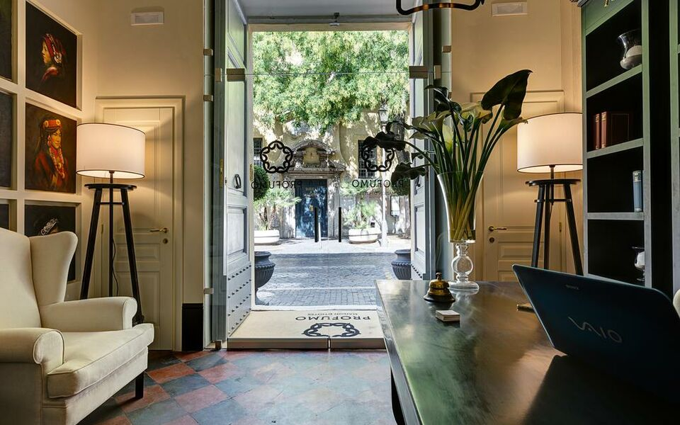 Profumo maison d 39 h tes a design boutique hotel rome italy for Design hotel rom