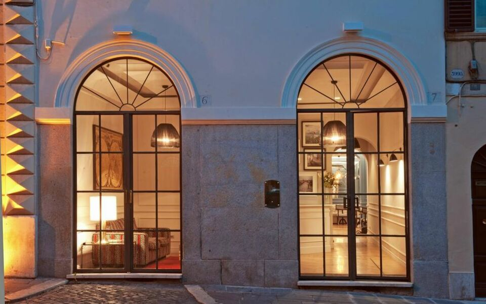 The fifteen keys hotel a design boutique hotel rome italy for Designhotel rom