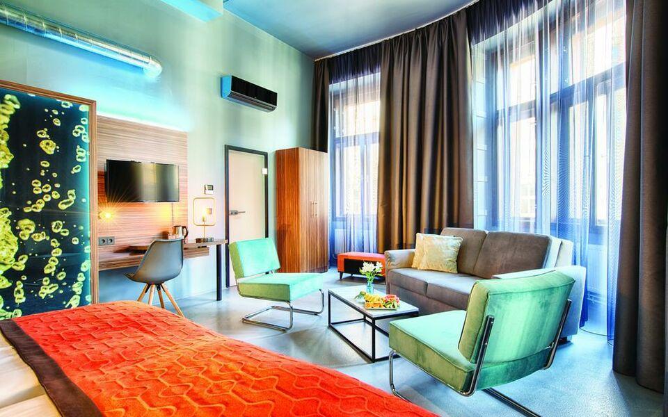 Nyx prague a design boutique hotel prague czech republic for Design hotel prague tripadvisor